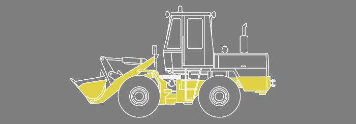Схема погрузчика то-28